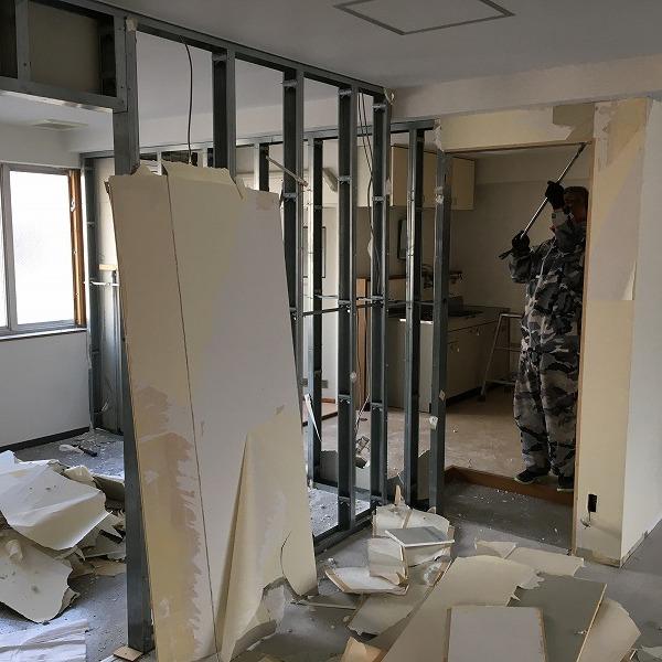 事務所改装工事。0005914418