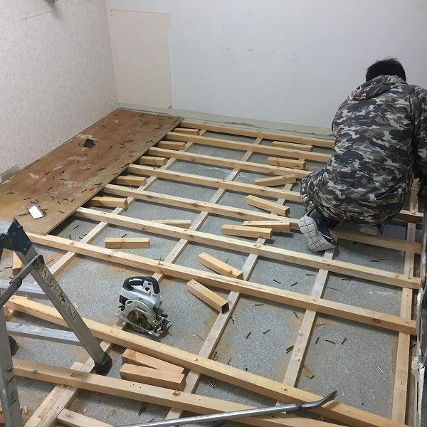 事務所改装工事。0005914419