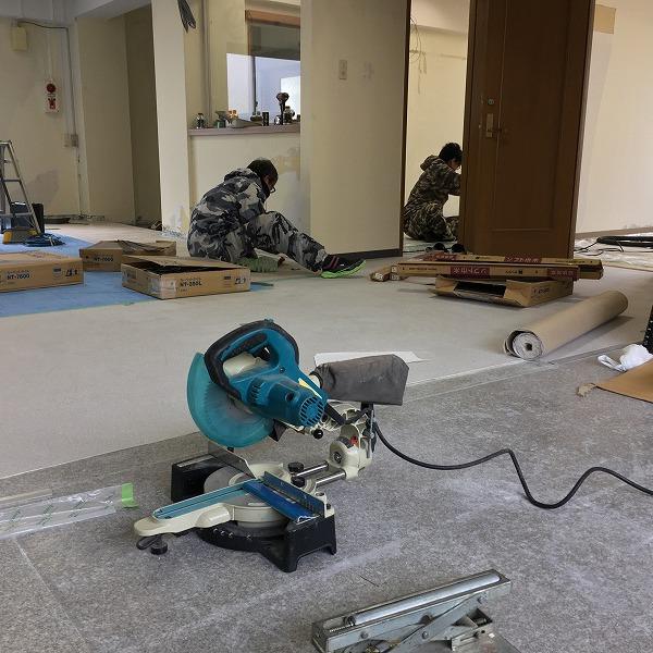 事務所改装工事。0005914424