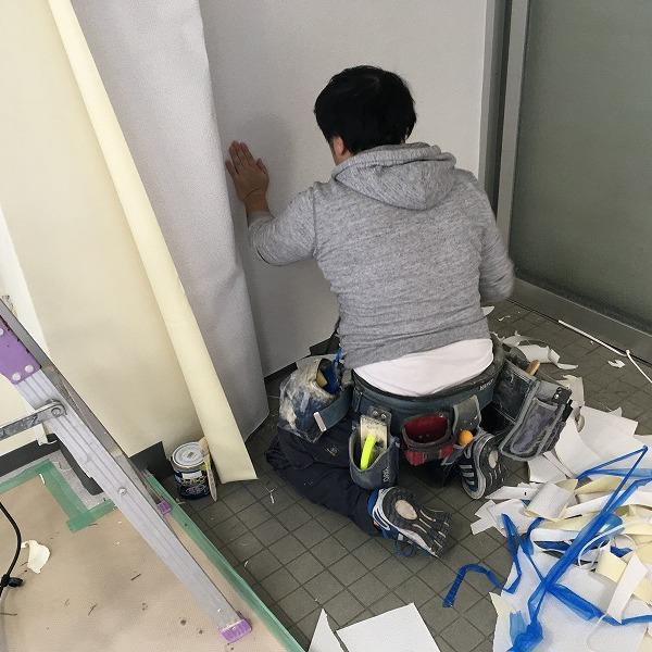 事務所改装工事。0005914425