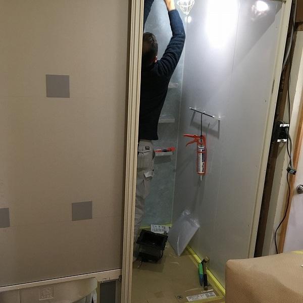 タイルのお風呂からユニットバス。0005954532