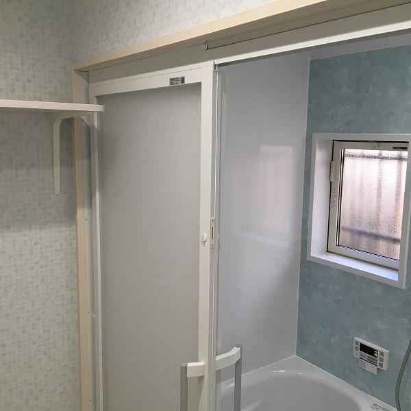 タイルのお風呂からユニットバス。0005954544