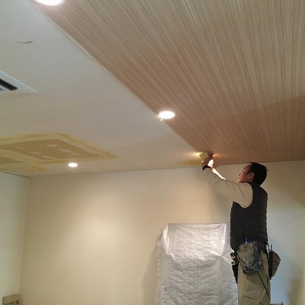 天井は木目クロス。0005984586