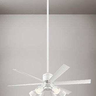 吹き抜け天井にシーリングファン。0006154936