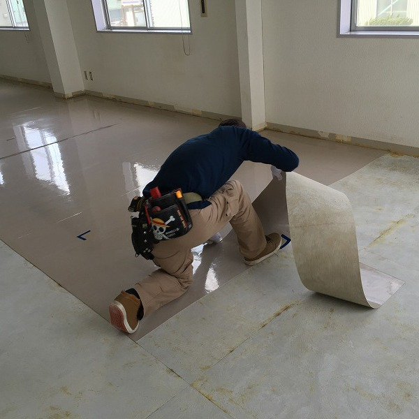 床シート貼り替えと壁クロス貼り替え。0006225145