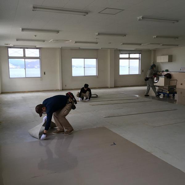 床シート貼り替えと壁クロス貼り替え。0006225146