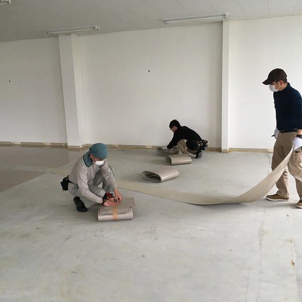 床シート貼り替えと壁クロス貼り替え。0006225147