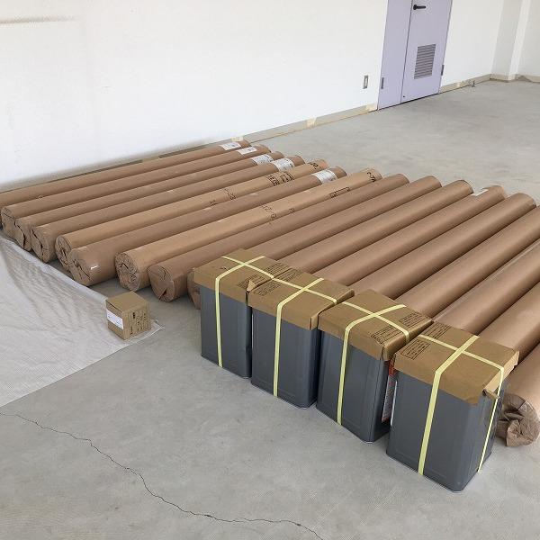 床シート貼り替えと壁クロス貼り替え。0006225149