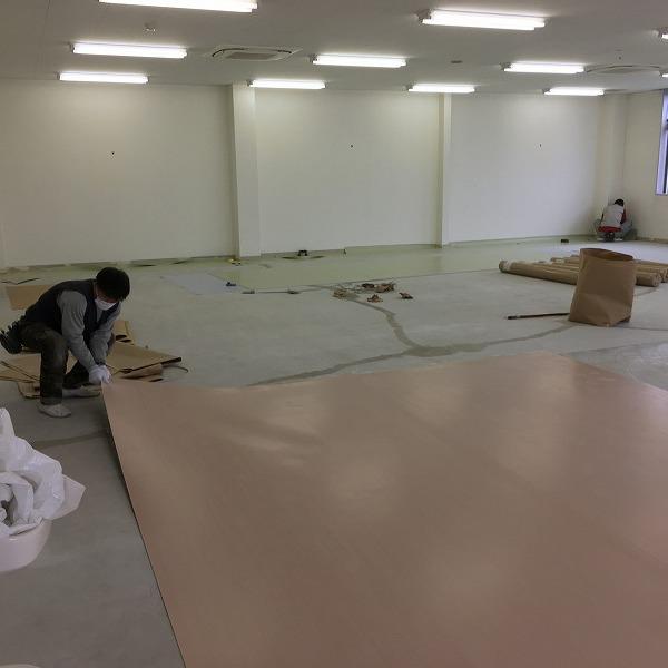 床シート貼り替えと壁クロス貼り替え。0006225153
