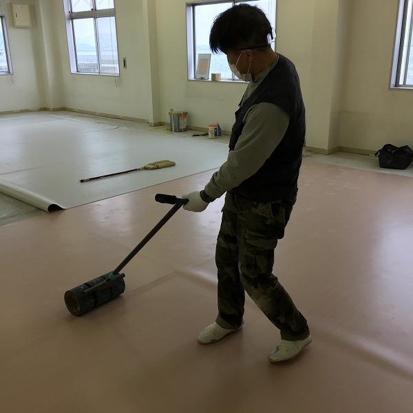 床シート貼り替えと壁クロス貼り替え。0006225154