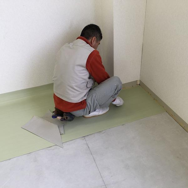 床シート貼り替えと壁クロス貼り替え。0006225155