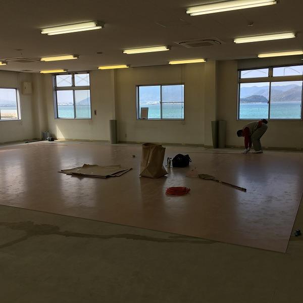 床シート貼り替えと壁クロス貼り替え。0006225156