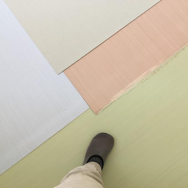 床シート貼り替えと壁クロス貼り替え。0006225157