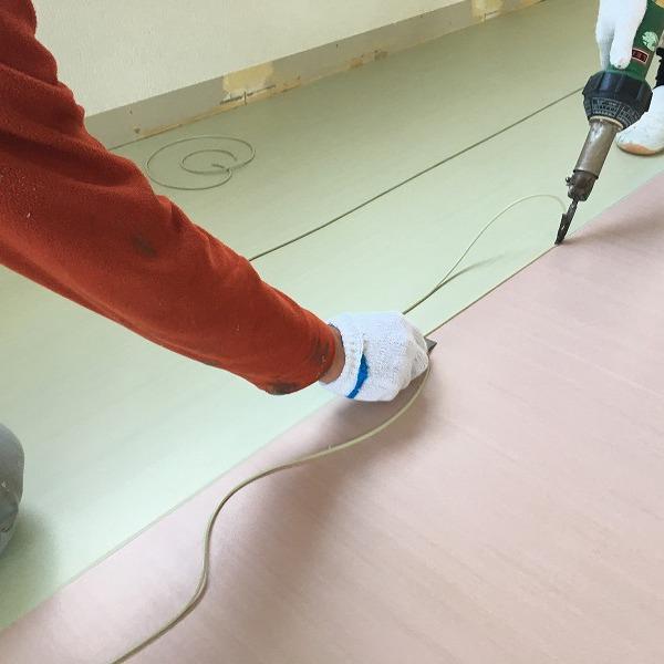 床シート貼り替えと壁クロス貼り替え。0006225158