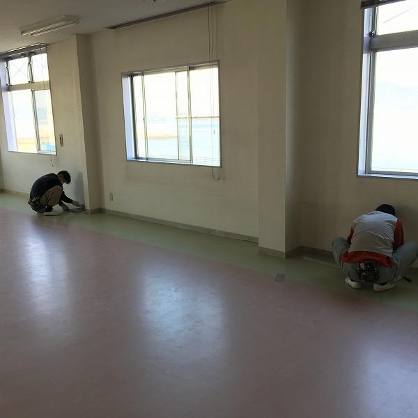 床シート貼り替えと壁クロス貼り替え。0006225159