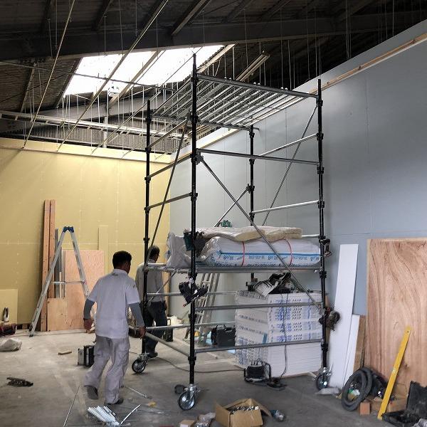 工場増築と改装。0006245237