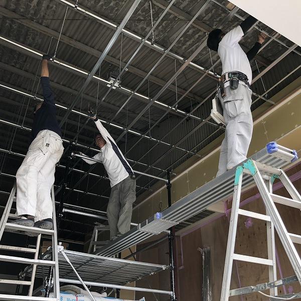 工場増築と改装。0006245239