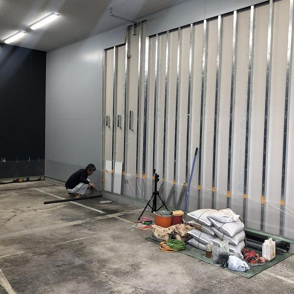 工場増築と改装。0006245245