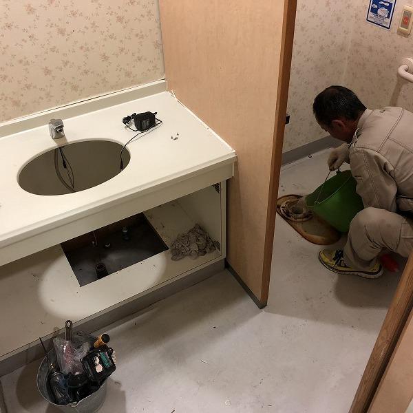 クリニックトイレ改装。0006285376
