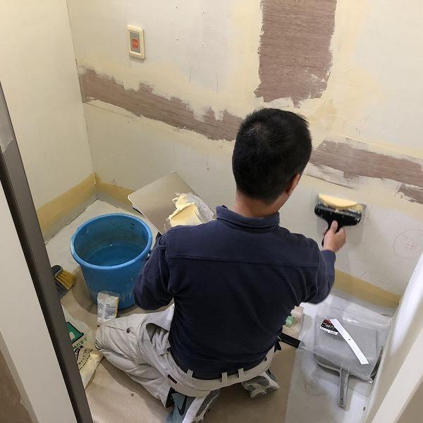 クリニックトイレ改装。0006285384