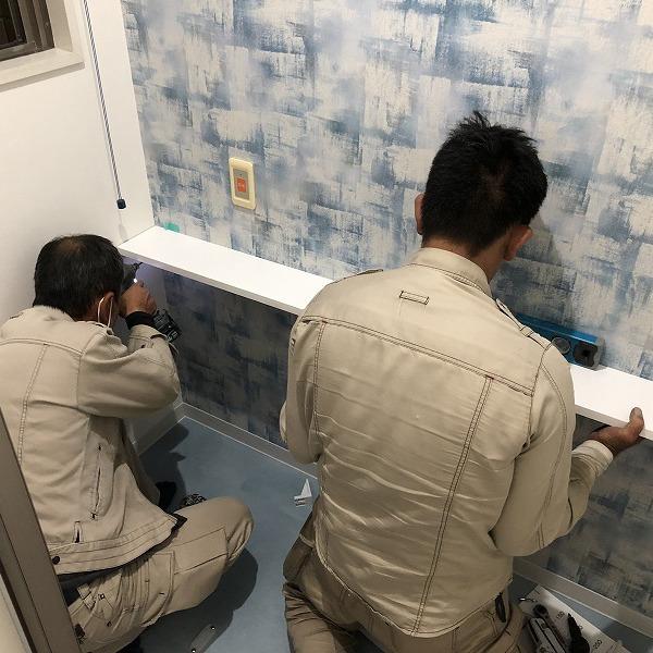 クリニックトイレ改装。0006285390